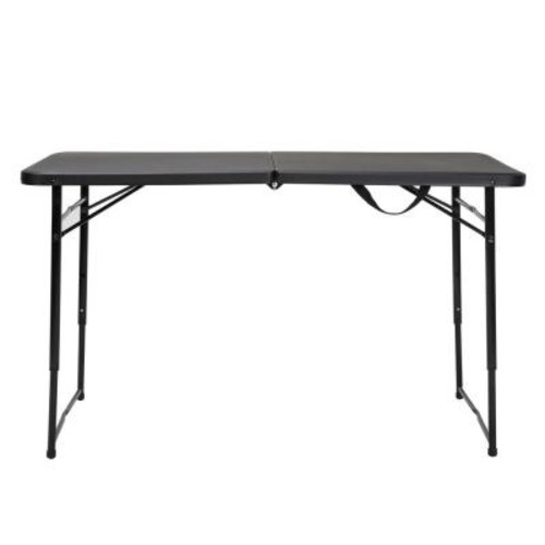 Cosco Black Adjustable Folding Tailgate Table