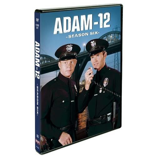 Adam-12: Season Six [4 Discs] [DVD]