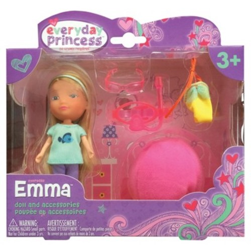 Neat-Oh! Everyday Princess Emma Doll & Bean Bag Chair