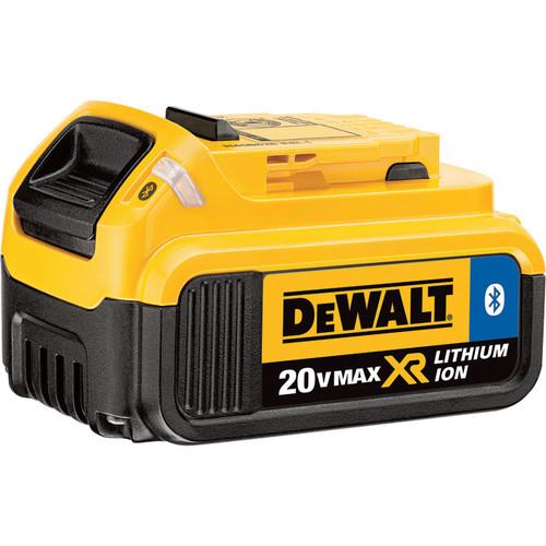 DEWALT 20V MAX XR Li-Ion Battery With Bluetooth,