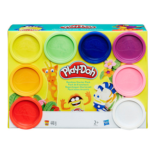 Hasbro Play-Doh Rainbow Starter Pack, Bundle Of 3