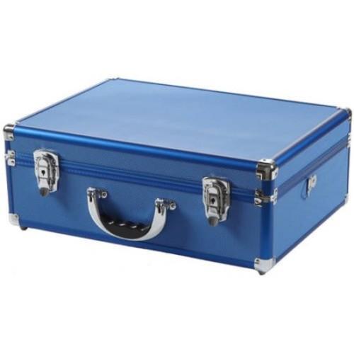 Copic Aluminum Case with Shoulder Strap, Blue