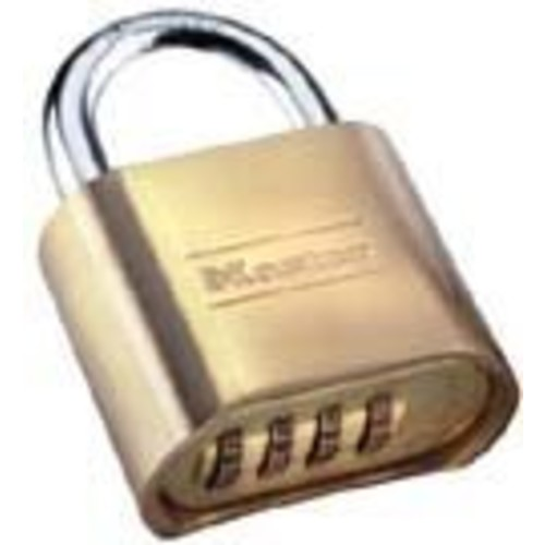 Master Lock Padlock, Set Your Own Combination Lock, 2 in. Wide, 175D [1 Pack]