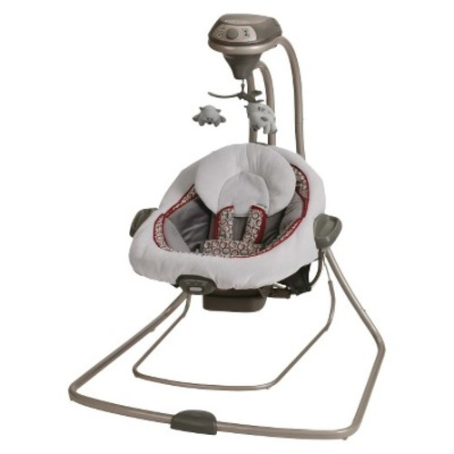 Graco DuetConnect LX Swing + Bouncer in Nyssa