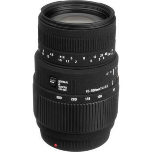 70-300mm f/4-5.6 DG Macro Lens for Sony and Minolta Cameras