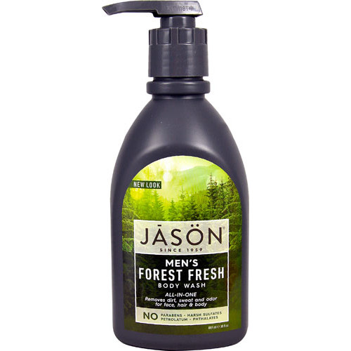 Jason Men's All-In-One Body Wash Forest Fresh -- 30 fl oz