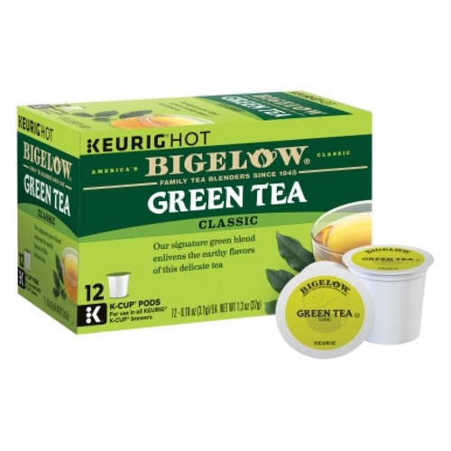 Keurig Bigelow Green Tea Tea K-Cups 12 pk