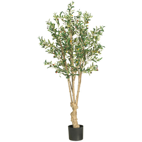 Nearly Natural Olive Tree in Pot