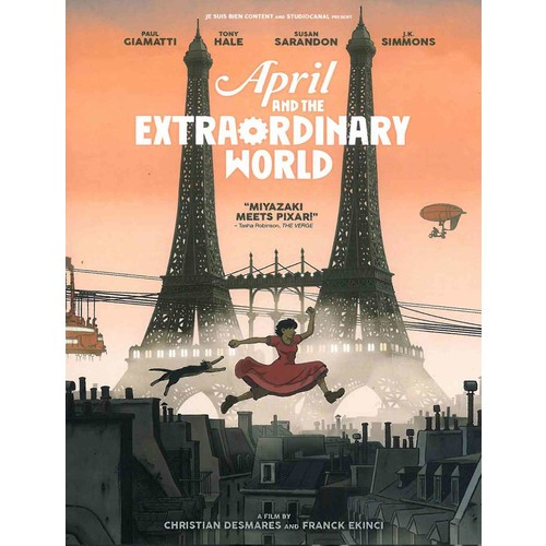 April And The Extraordinary World (DVD)