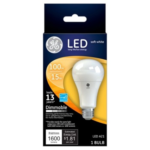 GE LED 100-Watt Light Bulb