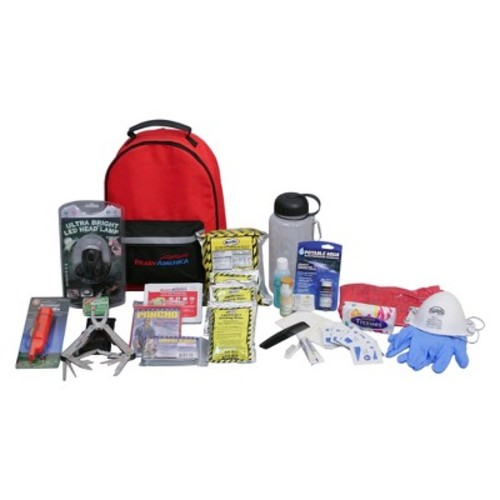 Ready America 1-Person 3-Day Deluxe Emergency Kit with Backpack