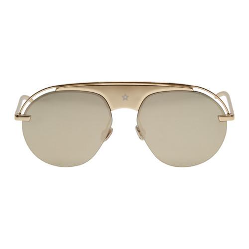 DIOR Gold Dio(R)Evolution2 Sunglasses