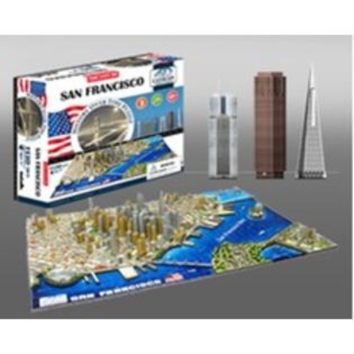 4D Cityscape 4D San Francisco, USA