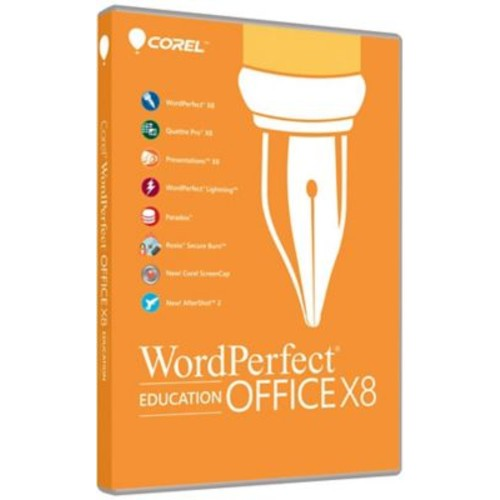 Corel WordPerfect Office X8 Pro Education for Windows (1 User) [Download]