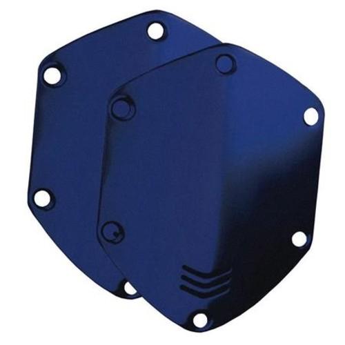 V-Moda On-Ear Custom Metal Shield Kit for Crossfade Headphones, Matte Blue