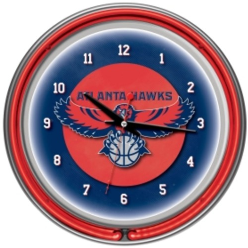 Trademark Games Atlanta Hawks 14'' Neon Clock