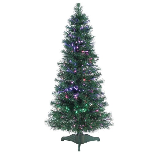 Sterling 4 ft. Pre-Lit Fiber Optic Artificial Christmas Tree with 166 tips