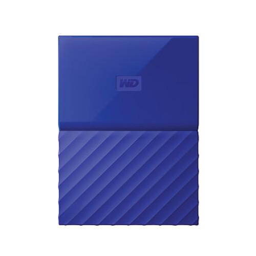 4TB My Passport USB 3.0 Secure Portable Hard Drive (Blue)