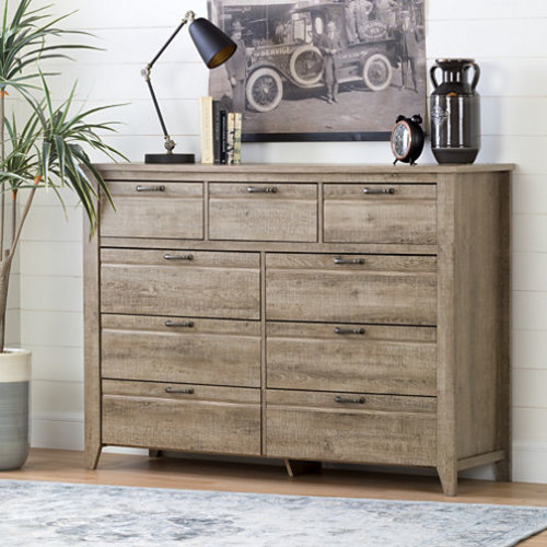Lionel 9-Drawer Double Dresser