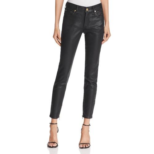Jennie Curvy Skinny Jeans in Oxidized Black