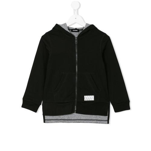 kangaroo zipped hoodie