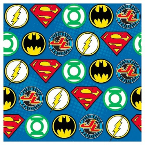 Justice League Gift Wrap