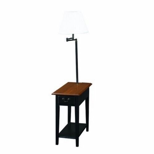 Leick Furniture Chairside Lamp Table 9037-SL