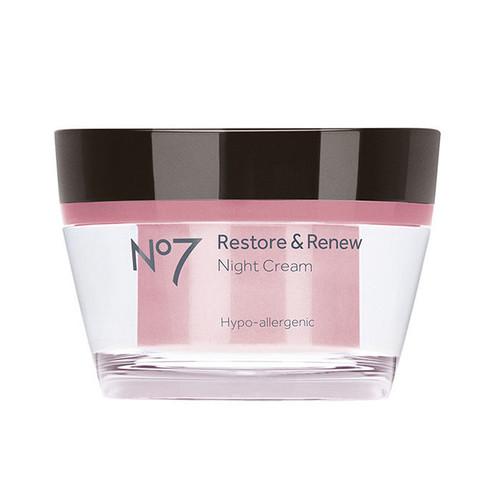 Boots No7 Restore & Renew Night Cream [9 oz (50 ml)]