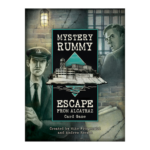 US Games Systems Escape From Alcatraz Card Game