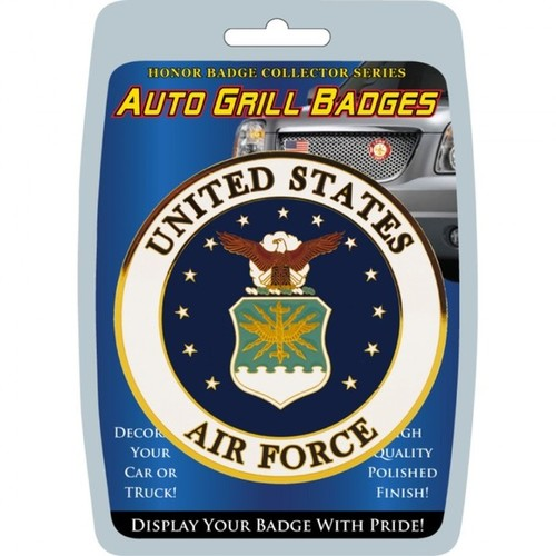 United States Air Force Automobile Grill Badge
