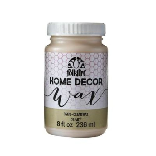 FolkArt Home Decor 8 oz. Clear Wax Finish