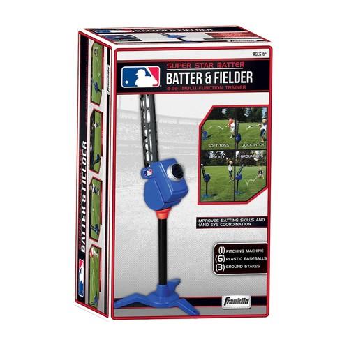 Franklin MLB Batter & Fielder 4-in-1 Multi-Function Trainer
