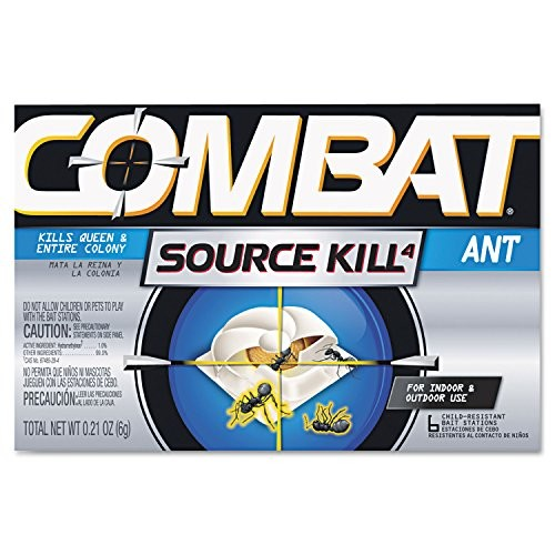 Combat Source Kill 4: Six Ant Bait Stations. Kills Queen & Entire Colony. Henkel 45901 [1]