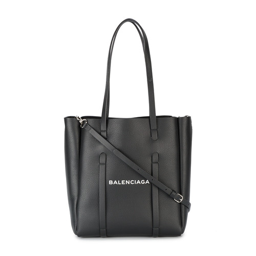 Black leather Everyday Tote S