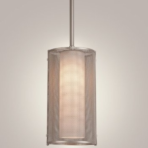 Uptown Mesh Mini Pendant [Light Option : Incandescent; Finish : Frosted Glass]