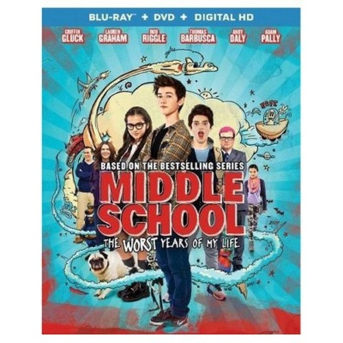 Middle School: The Worst Years Of My Life (Blu-ray + DVD + Digital)