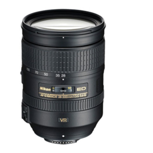 Nikon AF-S FX NIKKOR 28-300mm f/3.5-5.6G ED Vibration Reduction Zoom Lens with Auto Focus for Nikon DSLR Cameras [Lens Only]