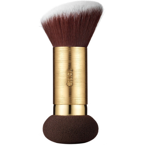 Double Duty Beauty Powder Foundation Brush & Removable Sponge