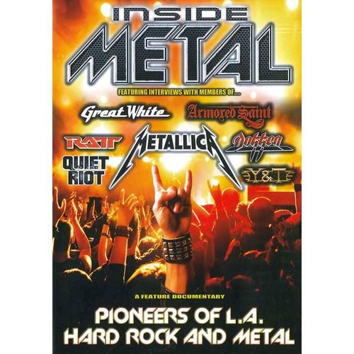 Inside Metal: Pioneers of L.A. Hard Rock and Metal (DVD)