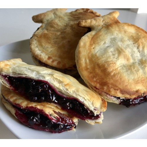 Mamie's Pies (12) 4.25oz Blueberry Pocket Pies