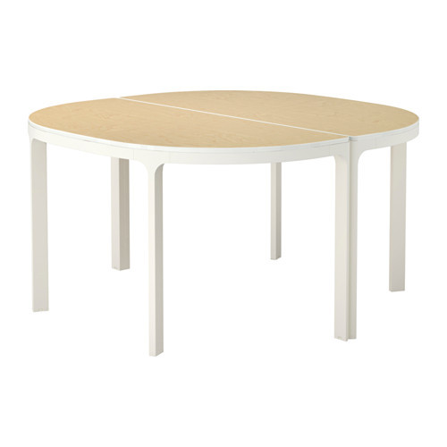 BEKANT Conference table, birch, black