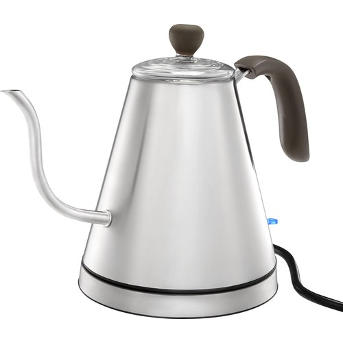 Caribou Coffee - 0.8L Electric Kettle - Stainless Steel