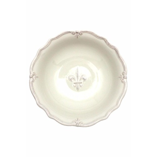 Fleur De Lis Serving Bowl