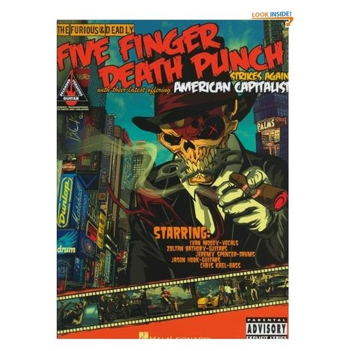 Five Finger Death Punch - American Capitalist (Guitar Recorded Versions)