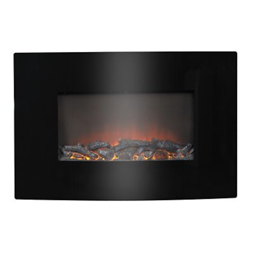 Homestar Flamelux 35'' Wide Wall Mount Electric Fireplace