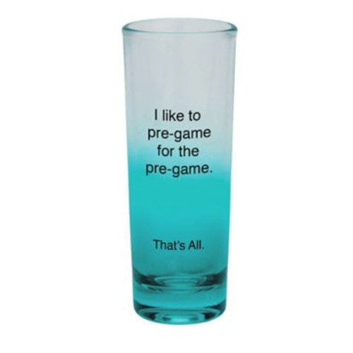 That's All. Pre-Game Shot Glass (Set of 4)