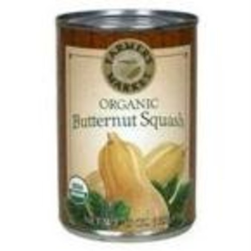 Farmer's Market Foods, Organic Canned Butternut Squash Puree, 15 oz