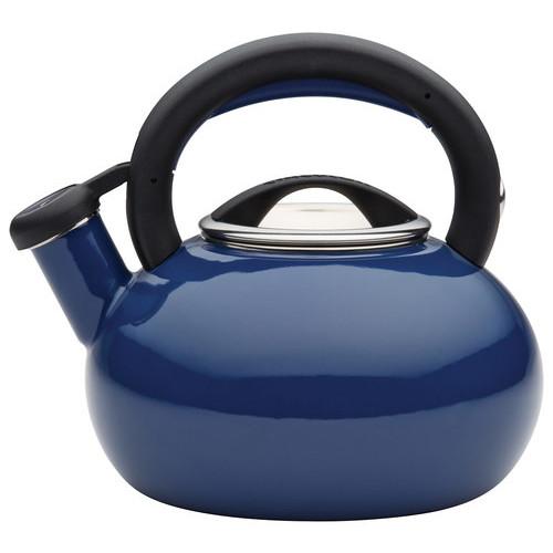 Circulon - Sunrise 1.5-Quart Tea Kettle - Navy Blue