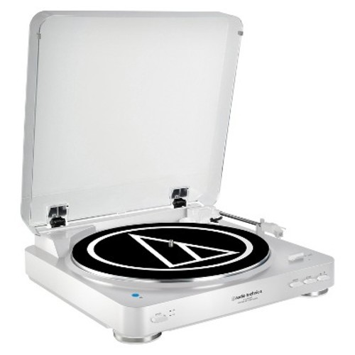 Audio Technica AT-LP60BK-BT Bluetooth Wireless Stereo Turntable - White