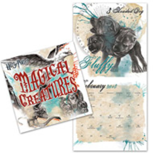 2018 Harry Potter Collectors Edition Wall Calendar
